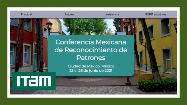 Póster 13th Mexican conference on Pattern Recognition MCRP 2021